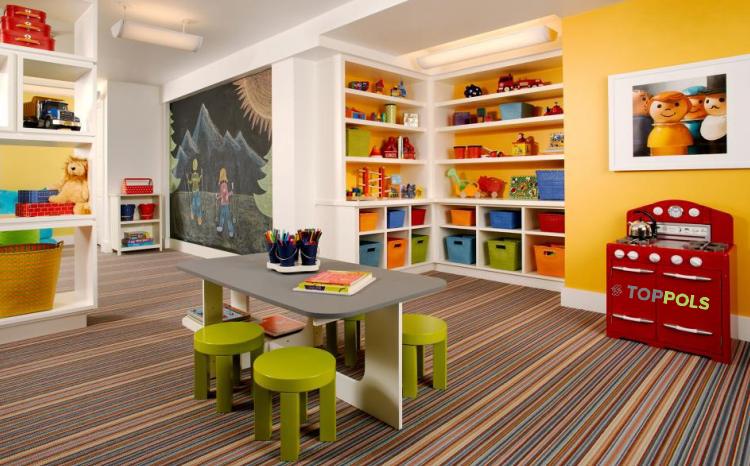 ковровая плитка для детей