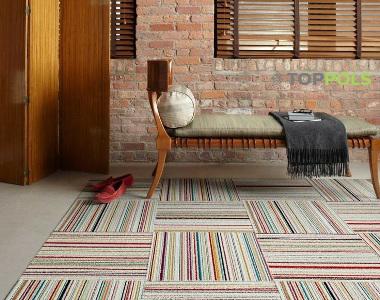 плитка ковровая в доме