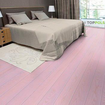 розовый ламинат
