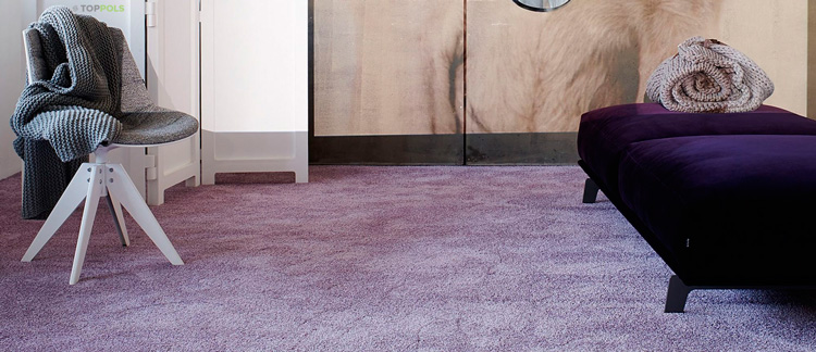 сиреневая ковровая плитка