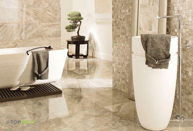 фарфоровая плитка в ванной