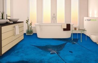 скатики иллюзия на полу