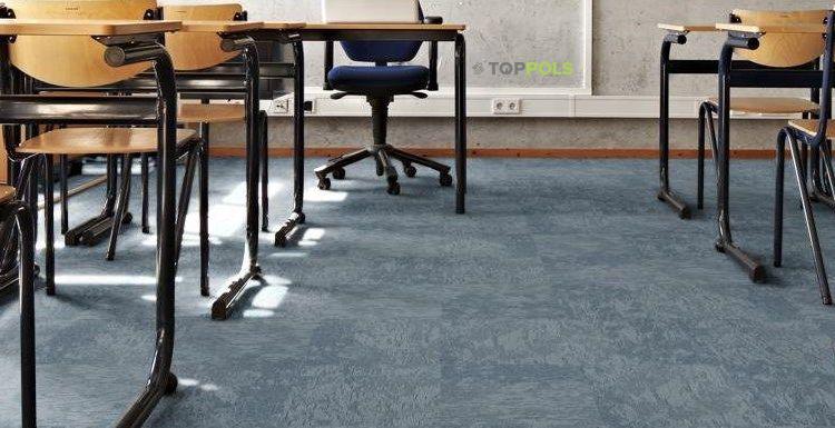 ковровая плитка в классе