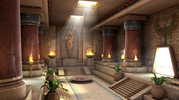 Египетский дворец
