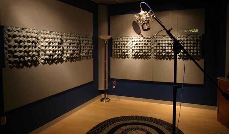 Комната звукозаписи линолеум