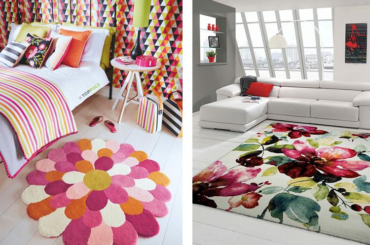 цветочные ковры