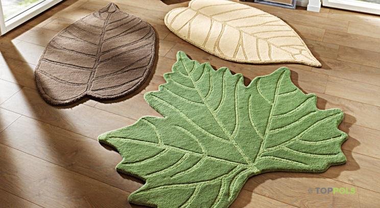 разноцветные листья ковры