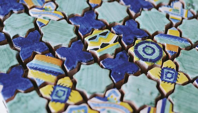 Мозайка в интерьере 6