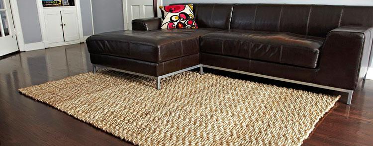 плетеный бамбуковый ковер