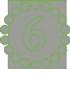 зеленая цифра 6