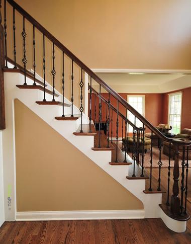 лестница ламинат