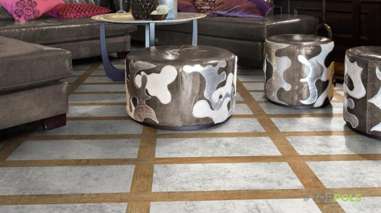 Ламинат с керамикой