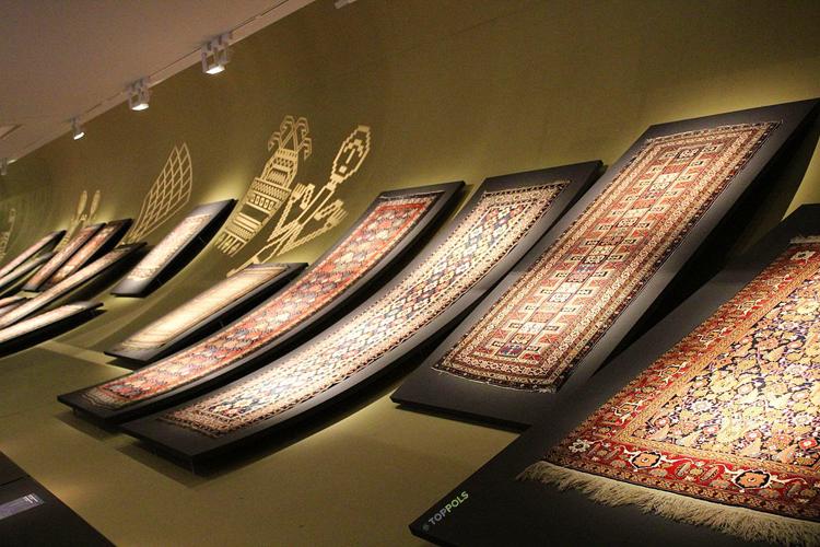 Азербайджан ковры в музее