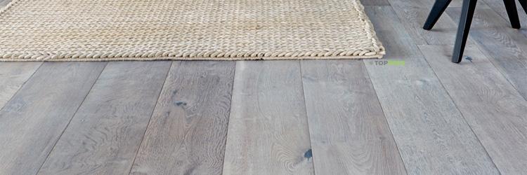 деревянный пепельный пол