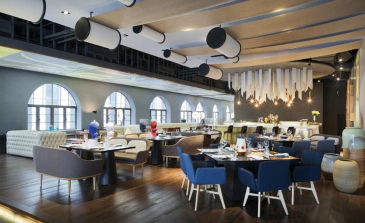 современный ресторан