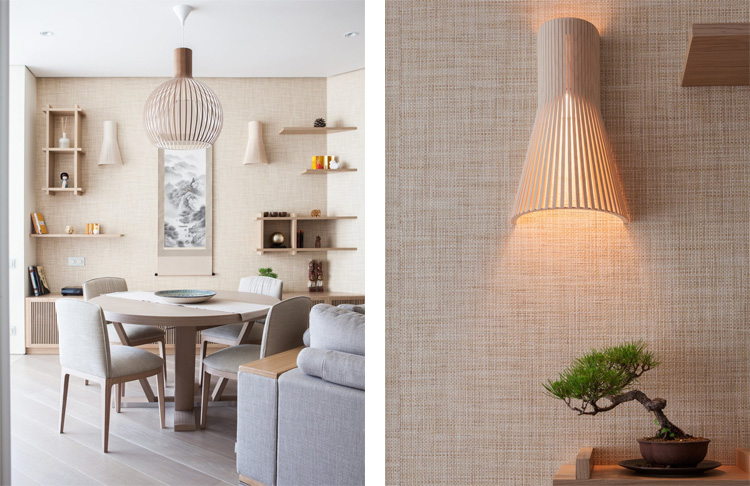 японский минимализм в квартирее