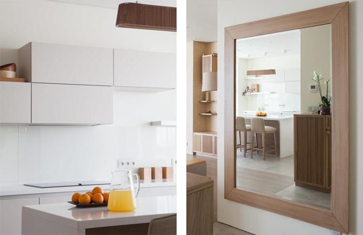 кухня и прихожая в минимализме